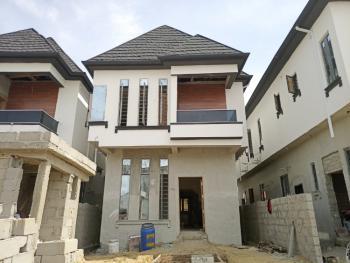 Spaciously Built 4 Bedroom Detached Duplex with Bq, Chevron Toll Gate, Lafiaji, Lekki, Lagos, Detached Duplex for Sale