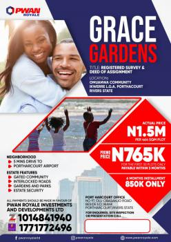 Dry and Table Estate Land, Grace Gardens Estate, Omuanwa Community, Ikwerre, Rivers, Mixed-use Land for Sale