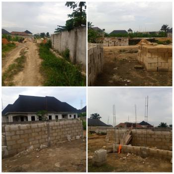 2 Plots in a Fully Built Up Area, Cornerstone Road, Off Nta Road, Port Harcourt, Rivers, Residential Land for Sale