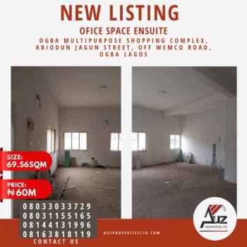 Shop Or Office / Commercial Space Ensuite, Abiodun Jagun Street, Off Wemco Road, Ogba, Ikeja, Lagos, Shop for Sale