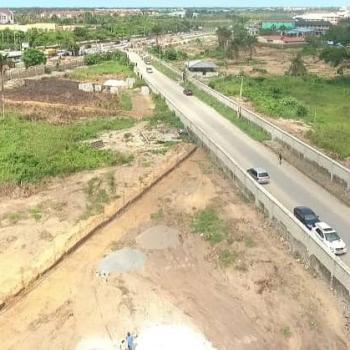 Land. C of O, By The Lagos - Epe Expressway, Awoyaya, Ibeju Lekki, Lagos, Mixed-use Land for Sale