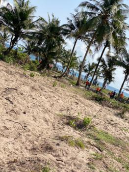 Beach Front Property. Strictly Commercial. Freehold C of O in View., Eleko, Ibeju Lekki, Lagos, Commercial Land for Sale