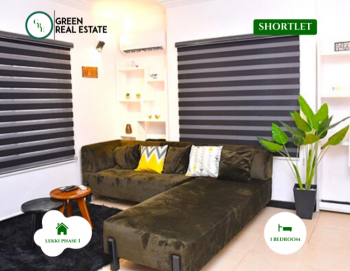 Stylish 1 Bedroom Serviced Apartment, Lekki Phase 1, Lekki, Lagos, Mini Flat Short Let