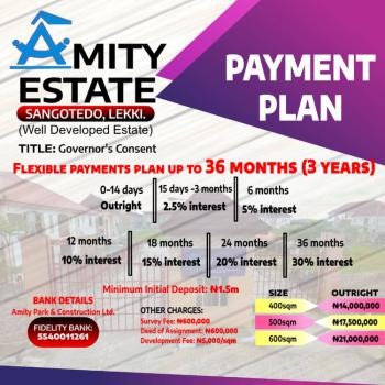 Well Developed Estate, Instant Allocation, Sangotedo, Ajah, Lagos, Residential Land for Sale