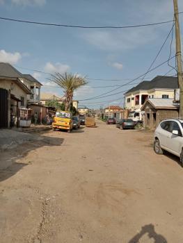 a Demolishable Bungalow on 690sqm, Oke-ira, Ogba, Ikeja, Lagos, Residential Land for Sale