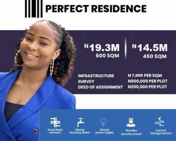 Land in a Developed Estate with C of O, Inside Beechwood Estate Lakowe Bogije, Lekki Phase 2, Lekki, Lagos, Residential Land for Sale