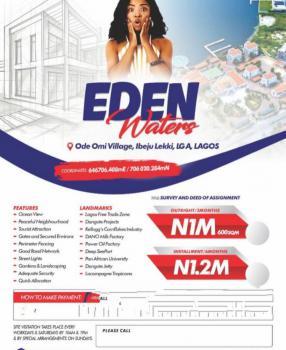 Dry Land Facing The Ocean) Plots, Ibeju Lekki, Lagos, Residential Land for Sale