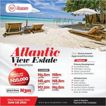 Land in Atlantic View Estate, Atlantic View Estate, Sangotedo, Ajah, Lagos, Land for Sale