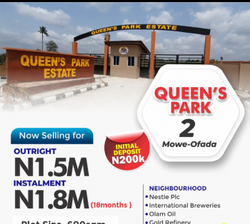 Estate Land, After Nestlehttps://youtu.be/qltvwv2xsma, Mowe Ofada, Ogun, Residential Land for Sale