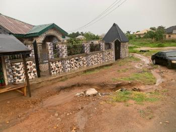 Three Bedroom Bungalow with Two Units of Flats, Igoba, Akure, Ondo, Detached Bungalow for Sale