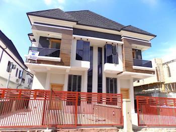 4 Bedroom Semi Detach Duplex with Bq in a Gate Estate, Chevron, Lekki, Lagos, Semi-detached Duplex for Rent