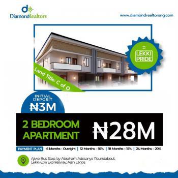 Luxury 2 Bedroom Apartment, Ajiwe, Ajah, Lagos, Flat / Apartment for Sale