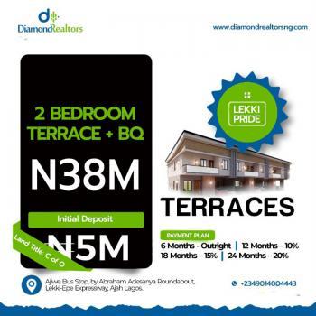 Luxury 2 Bedroom Terrace Duplex, Abraham Adesanya, Ajiwe, Ajah, Lagos, House for Sale