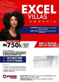 Excel Villas Estate, Umuahia, Abia, Mixed-use Land for Sale