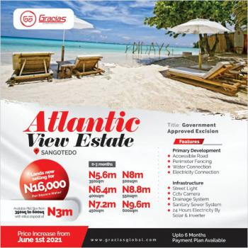 The Most Affordable Ocean View Estate Behind Sangotedo Shoprite, Off Monastery Road, Some Minutes From Lekki Expressway, Sangotedo, Ajah, Lagos, Residential Land for Sale