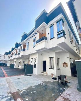 Serviced 4 Bedrooms Terraced House with 24 Hours Light in a Secured Estate, Secound Tollgate, Lekki Phase 2, Lekki, Lagos, Terraced Duplex for Rent