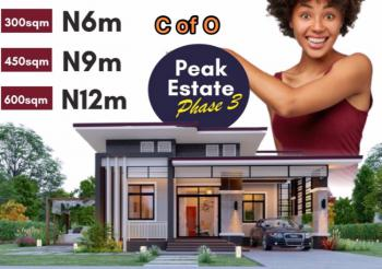 Dry Estate Land with C of O, Awoyaya Behind Mayfair Gardens and Few Minutes From Shoprite, Sangotedo, Ajah, Lagos, Residential Land for Sale