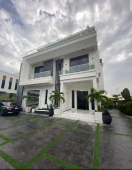 Massive 5 Bedroom Mansion + Cinema Room, Pool, Cctv, Osapa, Lekki, Lagos, Detached Duplex for Sale