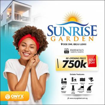 Sunrise Garden, Ode Omi Ibeju, Ibeju Lekki, Lagos, Residential Land for Sale