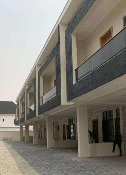 Newly Built 4 Bedrooms Terraced House with 24 Hours Light, Chevron, Lekki Phase 2, Lekki, Lagos, Terraced Duplex for Rent