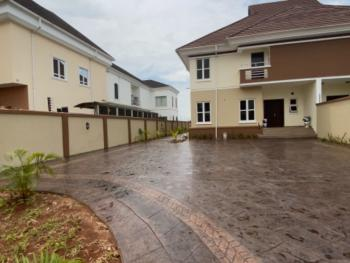 New Luxury Finished 4 Bedrooms House + 2 Room Bq, Pinnock Beach Estate, Osapa, Lekki, Lagos, Semi-detached Duplex for Rent