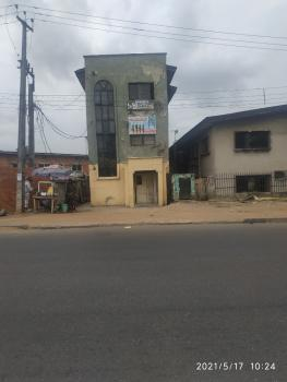 Two Storey Building of Hall Space Good for Church, Office, Ikorodu Road, Onipanu, Shomolu, Lagos, Block of Flats for Sale