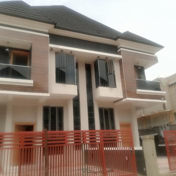 Newly Built 4 Bedroom Semi-detached Duplex with B/ Q, Chevron Alternative Route, Lekki, Lagos, Semi-detached Duplex for Rent