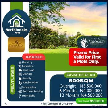 Quiet Gem in a Bustling Inner City Hub, Northbrooks Estate, Mowe Ofada, Ogun, Residential Land for Sale