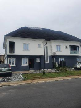 Distress Vendor 90 Percent Completed House, Cowrie Creek Nlng Estate, Ikate, Lekki, Lagos, Semi-detached Duplex for Sale