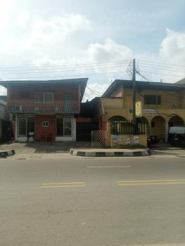2 Wings 4 Bedroom Duplex with Bq, Bode Thomas, Surulere, Lagos, Semi-detached Duplex for Sale