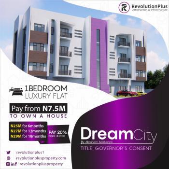 Luxury 1 Bedroom Apartment in Good Location, Dream City Estate, Abraham Adesanya, Ogombo, Ajah, Lagos, Mini Flat for Sale