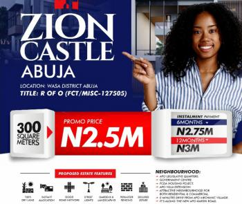 Zion Castle, Along The New Apo- Karshi Road, Wasa, Apo, Abuja, Mixed-use Land for Sale