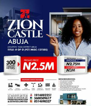 Affordable Plots of Land, Zion Castle Estate Along The New Apo-karshi Road, Wasa, Apo, Abuja, Land for Sale