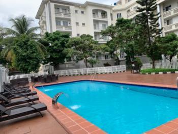 Luxury 3bedrooms Flat with 1room Bq, Off Oba Adeyinka, Osborne, Ikoyi, Lagos, Flat for Rent