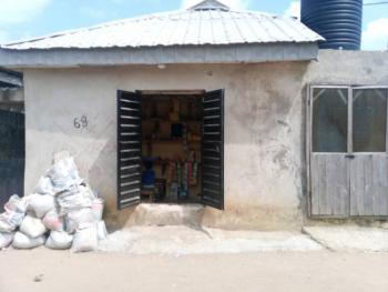 22ft By 40ft Plot of Land with 2 Bedroom Flat & a Shop, Ago Bridge, Okota, Isolo, Lagos, Land for Sale