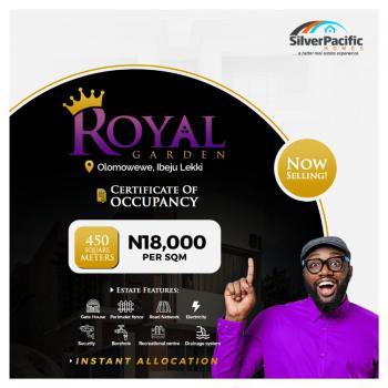 Royal Garden Estate, Olomowewe Community, Ibeju Lekki, Lagos, Mixed-use Land for Sale