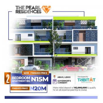 2 Bedroom Apartment + Bq, Pearl Resident Abijo G.r.a, Abijo, Lekki, Lagos, House for Sale
