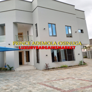 Newly Upgraded 6 Bedrooms Semi Detached House + 2 Bq + 7 Cars Parking, Parkview, Ikoyi, Lagos, House for Rent