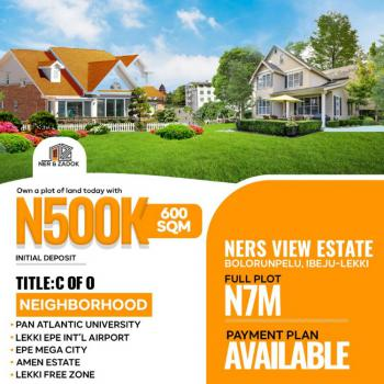 Acres and Plots of Land Available in an Estate, Bolorunpelu, Ibeju Lekki, Ibeju Lekki, Lagos, Residential Land for Sale