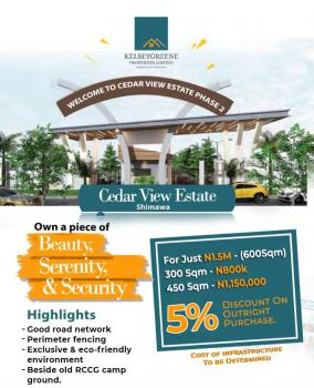 Cedar View Estate, Shimawa Town Behind Rccg Old Camp Ground, Lagos- Ibadan Expresway, Km 46, Ogun, Mixed-use Land for Sale