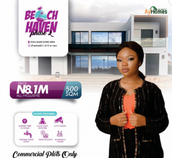 Beach Haven Phase 2, Solu Alade, Eleko, Ibeju Lekki, Lagos, Commercial Land for Sale