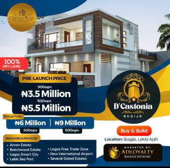 Dcastonia, Bogije, Ibeju Lekki, Lagos, Residential Land for Sale