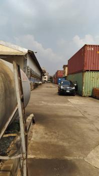 7 Bay Double Volume Warehouse in a Self Compound, Kudirat Abiola Way, Oregun, Ikeja, Lagos, Warehouse for Sale