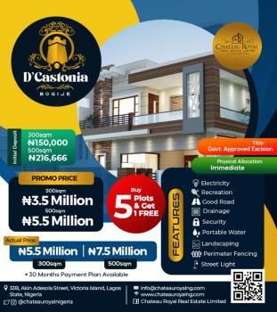 Land, Dcastonia, Bogije, Ibeju Lekki, Lagos, Mixed-use Land for Sale