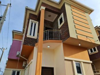 Massive 5 Bedrooms Duplex with a Bq in a Secured Estate, Vintage Garden Estate, Opposite Crown Estate, Sangotedo, Ajah, Lagos, Detached Duplex for Rent