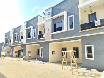 Newly Built Smart 4 Bedrooms Terraced Duplex, Off 2nd Tollgate, Lafiaji, Lekki, Lagos, Terraced Duplex for Sale