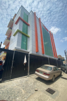 Newly Built Office Space, Off Apata Street, Shomolu, Lagos, Office Space for Rent