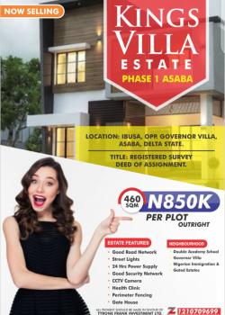 Land, Kings Villa Estate, Ibusa, Opp. Govt Villa, Asaba, Delta, Residential Land for Sale