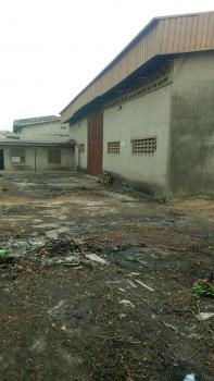 Strategic 2 Bay Warehouse on One Acre of Land Along Busy Express Way, Lagos Abeokuta Express Way, Abule Egba, Agege, Lagos, Warehouse for Sale