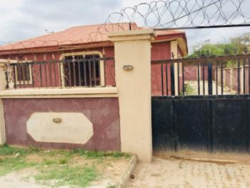 Very Spacious 3 Bedroom with 1 Bedroom Bq, Efab Estate, Lokogoma District, Abuja, Detached Bungalow for Sale